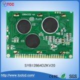 2.5 gráfico de la pulgada 128*64 para el módulo del LCD de la buena calidad con la fuente coreana