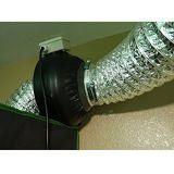 Aire de aluminio Ductings del sistema de la HVAC y abrazaderas