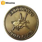 공장 직접 판매 금속은 고품질 동전과 주문 두 배 동전 타이어를 화폐로 주조한다