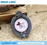 Métiers faits sur commande d'emblème de Pin de revers d'insigne en métal de cadeau de promotion de souvenir