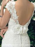 Encantador hotel Lace vestidos de Casamento Mermaid Dress Trombeta Chiffon Suite Bata