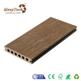 Decking composito di plastica di legno dell'ultima di disegno pavimentazione della cavità dalla Cina