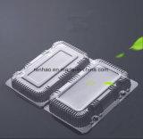 Wegwerf Plastikkasten des Nahrungsmittelgrad-biologisch abbauen Nahrungsmittelbehälter-Einzelverkäufe Frtuis freien kundenspezifischen verpackenPS/PVC/Pet/PP