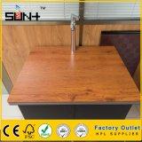 Muebles con textura de 12 mm laminado de alta presión