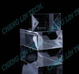 Cuadro de PP, PVC PET plegado de pegar la máquina con aplicador Spray adhesivo termofusible