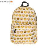 학생 십대 동안 재미있은 Desin 학교 부대 귀여운 QQ Emoji 책가방