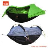 Для использования вне помещений военных гамак палатка с противомоскитные сетки и датчик дождя и освещенности для полетов дождевой чехол водонепроницаемый ТЕБЯ ОТ ВЕТРА жилья