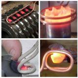 La macchina di brasatura del riscaldamento di induzione per il tubo di brasatura del tubo della saldatura del riscaldamento la lama per sega innestare e spingere