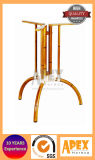 Look bambou Table aluminium Base 3 Base des orteils (AB2135B)