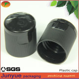 24/415 Ribbed Plastic Cosmetic Bottle Flip Signal Close Capes