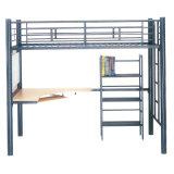 Schule-Schlafsaal-Metallkoje-Bett für preiswertes Zweipersoneneisen-weiches Bett