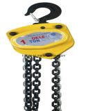 тали с цепью Vc-B инструмента руки 0.5ton-20ton поднимаясь с крюками