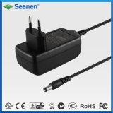 Kundenspezifischer 18W Spannungs-Adapter Wechselstrom-15V 1.2A GS