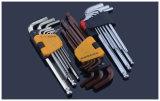 OEM/ODM 9 Stück-Bronzeallen-Schlüssel-Hilfsmittel