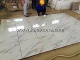 Natürlich/polierte China-weiße Fliese für Fußboden-/Wand-Umhüllung
