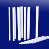 Тефлон PTFE подгонял прессованную штангу штанги PTFE штанги пластичных продуктов штрангя-прессовани чисто