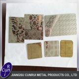 Kundenspezifische Edelstahl-Säure ätzte Platte für Baumaterialien
