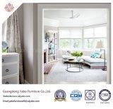 Empfindliche Hotel-Möbel mit dem Wohnzimmer-Gewebe-Sofa eingestellt (YB-S-30)