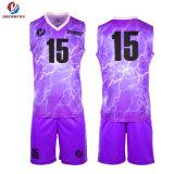 Сублимация спортивной одежды Custom баскетбольные форму колледж дешевые баскетбол Джерси производителя