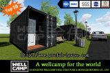 Wellcamp는 꾸며진 선적 컨테이너 집을 변환했다