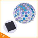 Indicatore luminoso cambiante alimentato solare esterno di notte di colore per la decorazione di festival della casa del giardino