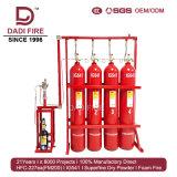 Sistema de supressão elétrico do incêndio do incêndio 15MPa Ig541 do extintor da eficiência elevada