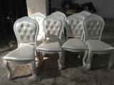 Weißer Aluminiumhotel-Hochzeits-Bankett-Esszimmer-Stuhl