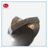 Acero inoxidable de torsión de la broca de carburo de tungsteno
