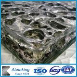 La gomma piuma di alluminio della barriera di disturbo copre di tegoli il materiale