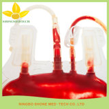 De beschikbare Steriele Medische Plastic Zak van de Inzameling van het Bloed
