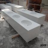 Искусственная каменная тщета ванной комнаты один Countertop части