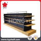 Crémaillère en bois d'aménagement de présentoir de mémoire de boutique