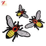 Ropa barata plancha sobre parches bordados personalizados para parches bordados (YB-E-041)