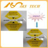 Etiquetas de envío logística en todo el mundo la grabadora de impacto