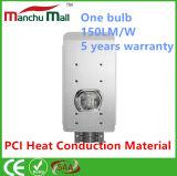 중국 제조 태양 강화된 가로등 100W LED Lights/IP67