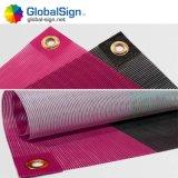 Bandiera rivestita impermeabile su ordinazione della maglia del PVC per la rete fissa