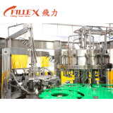Non-Carbonated 음료 주스 포도주 젖빛 유리 병 충전물 기계