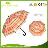 Populärer gedruckter Stock-Regenschirm des Automobil-geöffneter voller Fiberglas-23inch