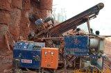 Ancrage du foret avec des projets de chemin de fer ou de route de pente du talus