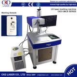 Kristallglas-Laser-Markierungs-Maschine für Gummiplastik