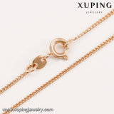 43887 Environmental Copper Alloy에 있는 Xuping 최신 Fashion Jewelry 18K 금 Plated Flower Women Necklace