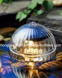 Bille de portance de lumière solaire piscine décoration lumière IP67
