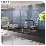 vidrio inferior de Splashback de la cocina de la impresión de Digitaces del hierro de 6m m