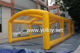 Cubierta inflable del garage de la tienda del coche para usar al aire libre