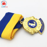 De Chinese Medaille van de Club van de Leeuw van het Metaal van de Douane van de Fabrikant 3D