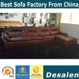 Мебель дома ощупывания черного высокого качества цвета мягкая (B. 985)