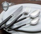 Ailaka het Tafelgereedschap van 4 Stuk plaatste de Dienst van het Tafelzilver van Roestvrij staal 304 voor 1, het Mooie Op zwaar werk berekende die Mes van de Lepel van de Vork voor het Hotel van het Restaurant van de Keuken van het Huis wordt geplaatst
