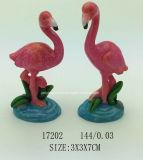 Названного владельца карточки Polyresin подарков фламингоа