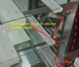 Vetrina commerciale della torta del frigorifero (doppia curva)