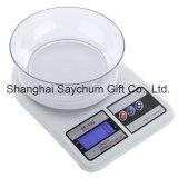 デジタル台所スケールの台所スケールのバランスの測定の重量を量るスケール